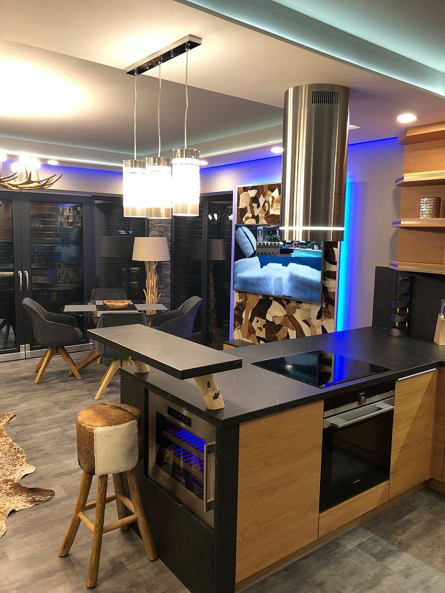 Byt 3kk - kuchyňský pult