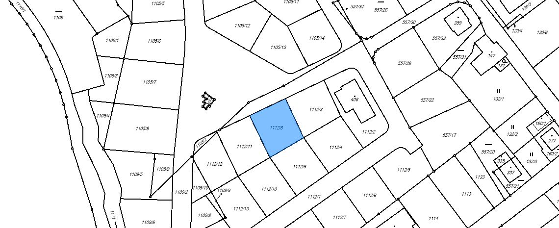 Boží Dar - mapa orto 2