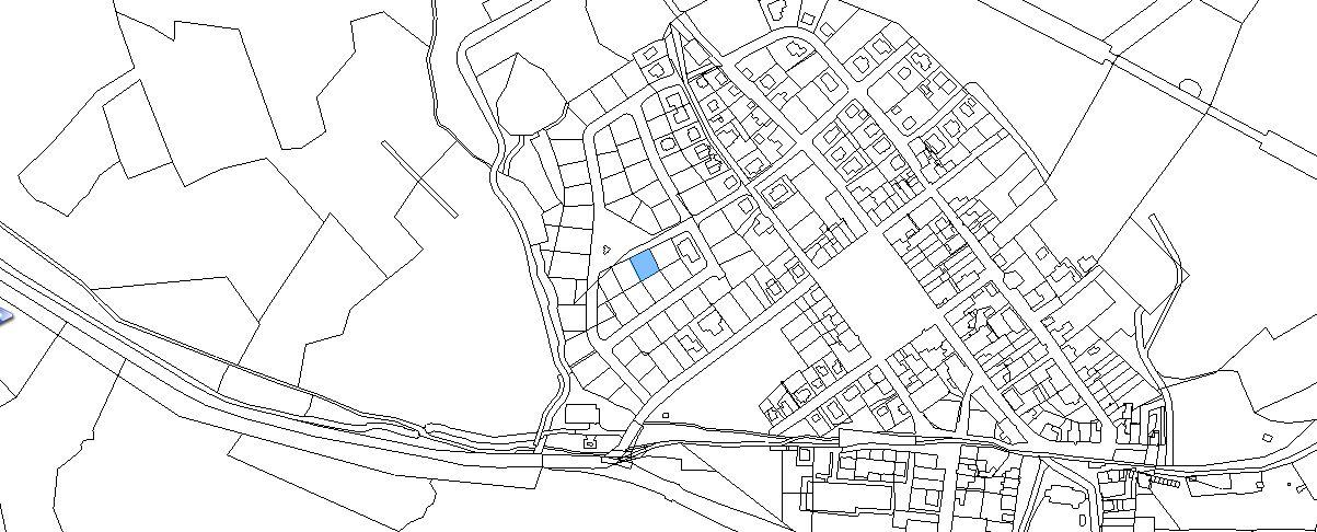 Boží Dar - mapa orto