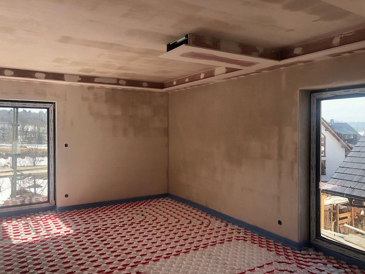 Podlahové topení a podhledy