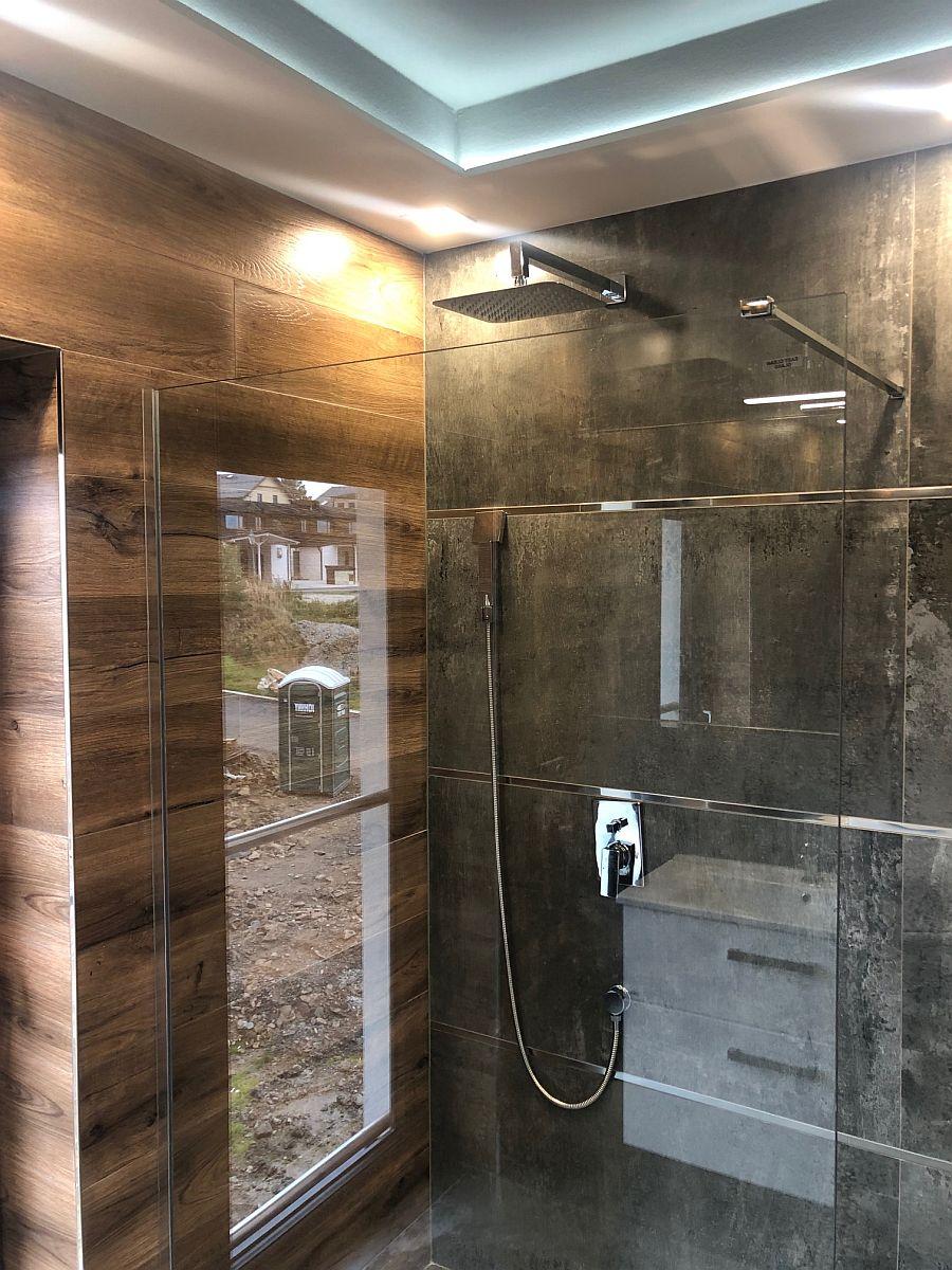 Konečná podoba bytu - sprchový kout