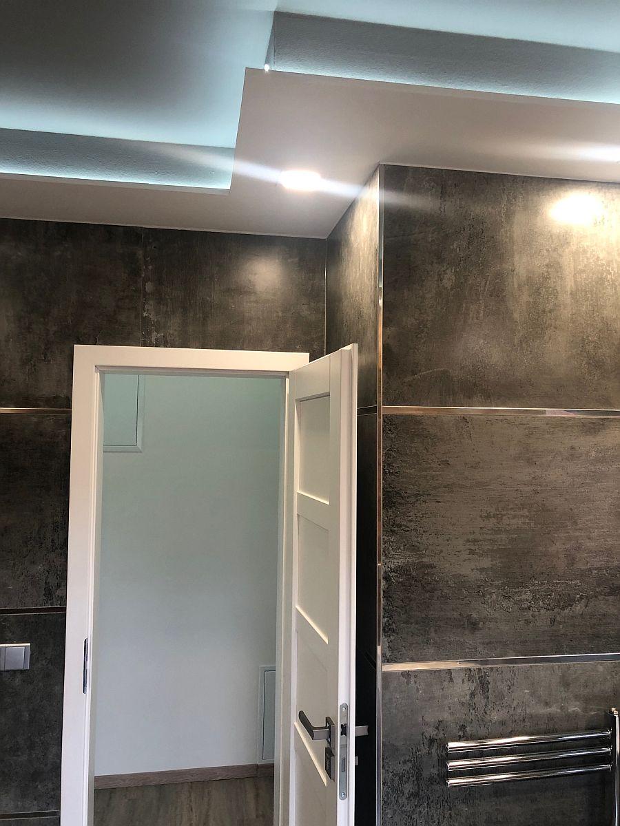 Konečná podoba bytu - vstup do koupelny
