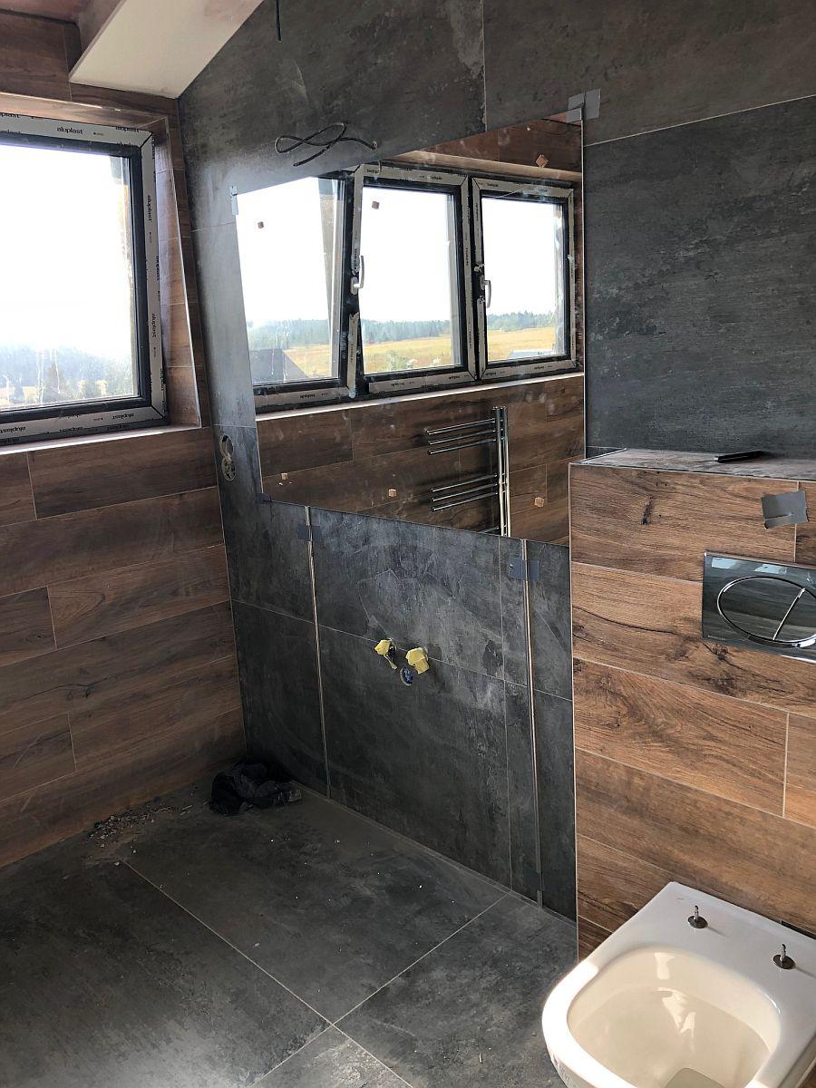 Byty Boží Dar - dokončování koupelny a WC 2