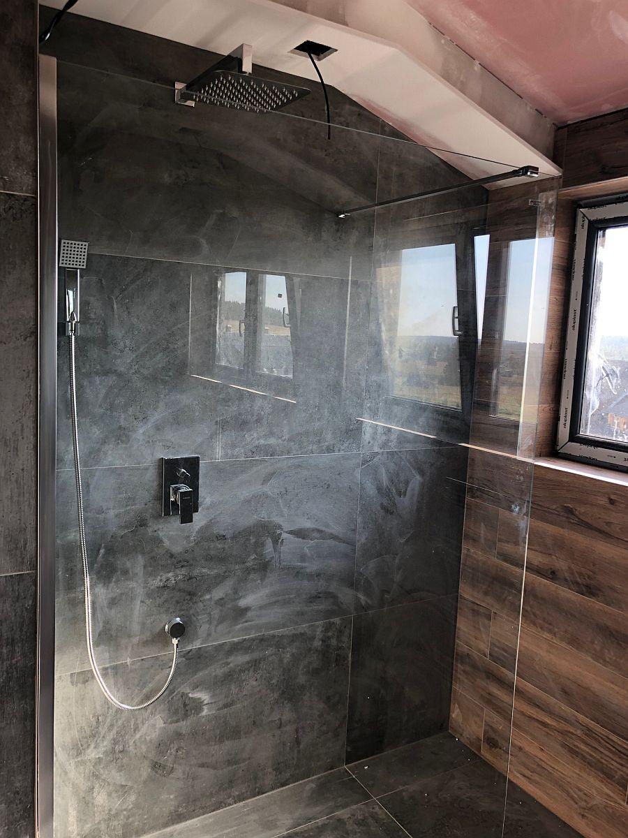 Byty Boží Dar - dokončování koupelny a WC 3