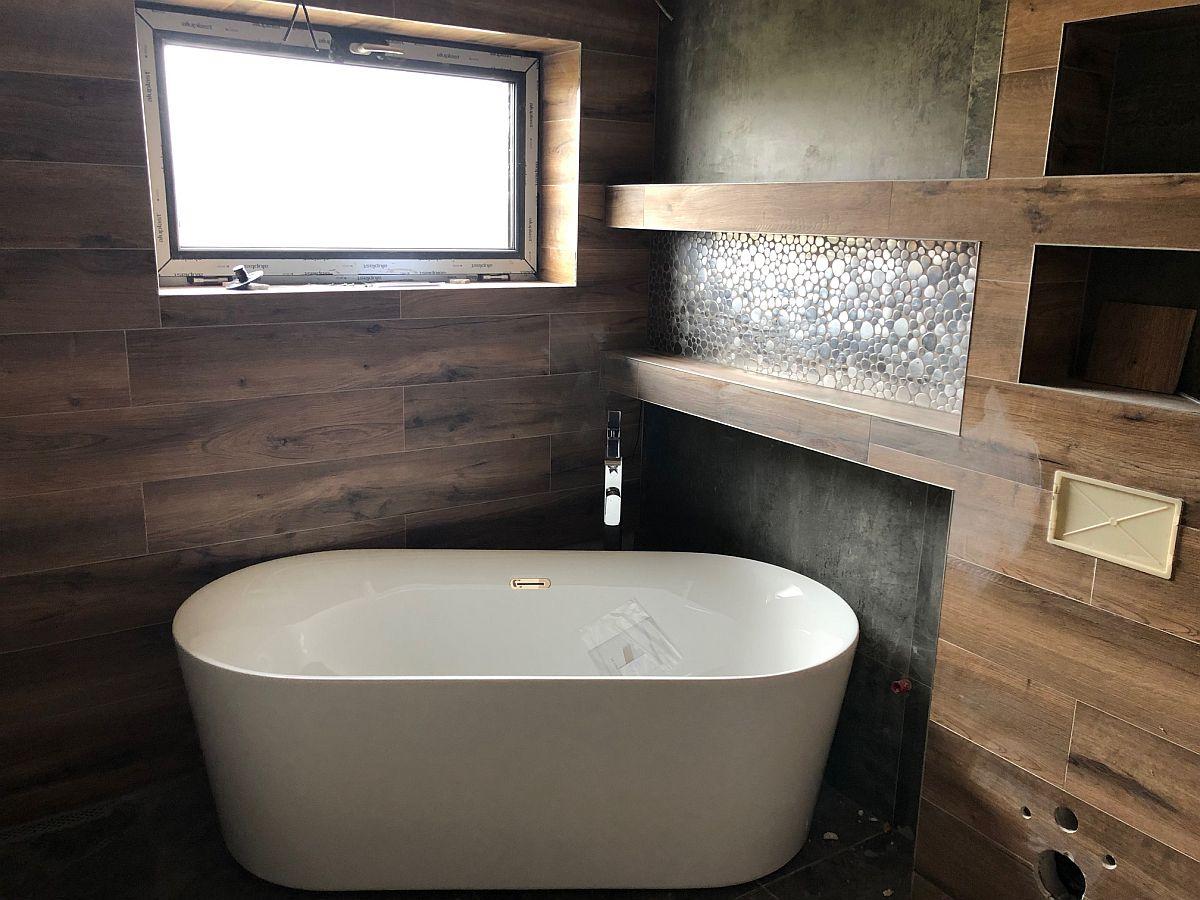 Byty Boží Dar - dokončování koupelny a WC 5