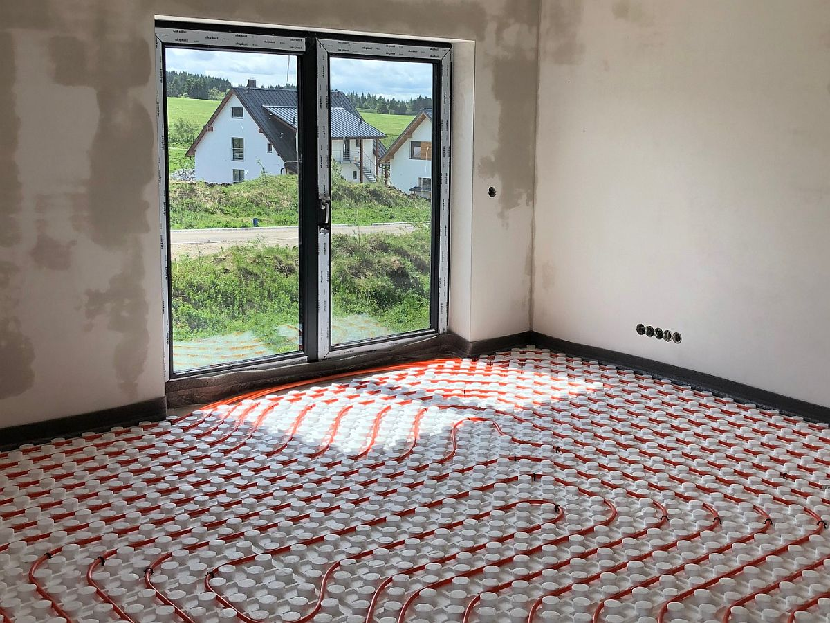 Podlahové topení - moderní způsob pokládání
