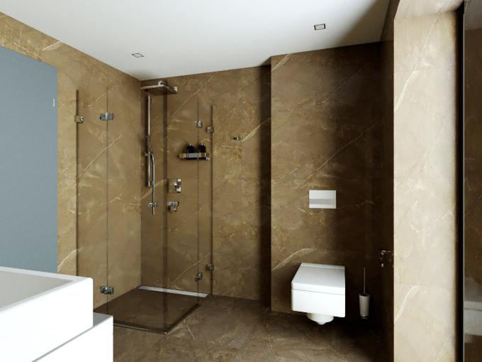 Vizualizace - Koupelna 2