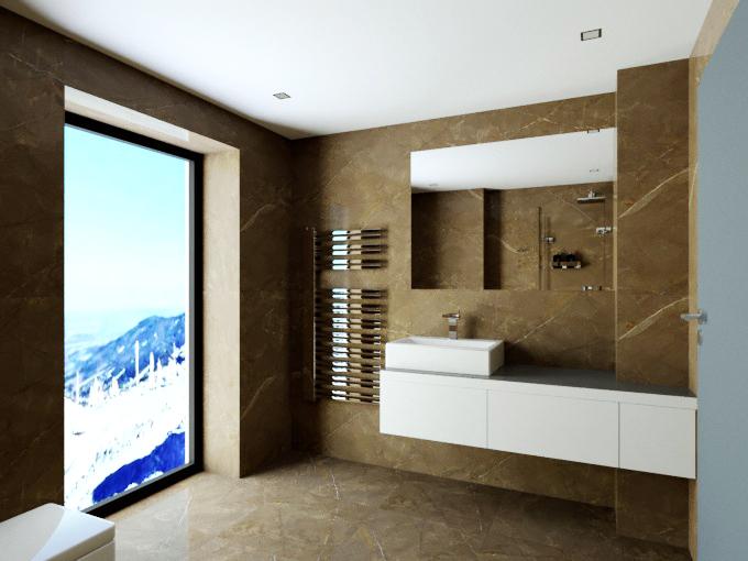 Vizualizace - Koupelna 3