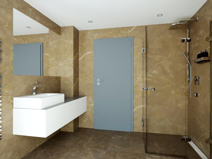 Vizualizace - Koupelna 4